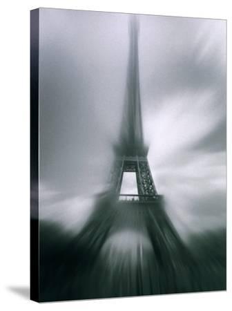 Eiffel Tower, Paris, Ile-De-France, France-Mark Newman-Stretched Canvas Print