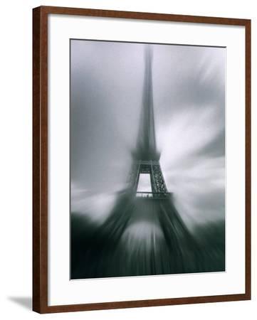 Eiffel Tower, Paris, Ile-De-France, France-Mark Newman-Framed Photographic Print