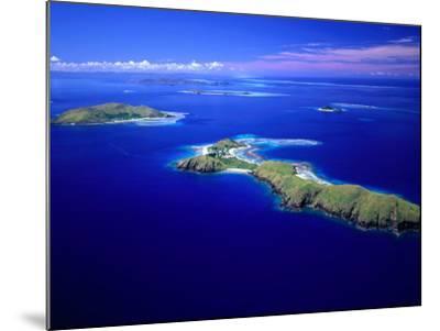 Yanuya Island on Right and Tavua Island on Left, Fiji-David Wall-Mounted Photographic Print