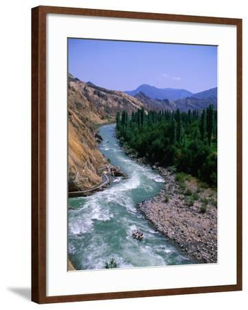 Rafting Down the Coruh River, Erzurum, Turkey-Anders Blomqvist-Framed Photographic Print