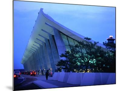 Dulles International Airport at Night, Washington Dc, USA-Rick Gerharter-Mounted Photographic Print