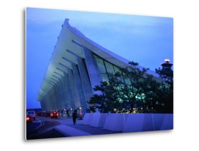 Dulles International Airport at Night, Washington Dc, USA-Rick Gerharter-Metal Print
