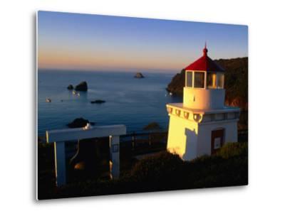 Trinidad Head Lighthouse, Trinidad, California, USA-Stephen Saks-Metal Print