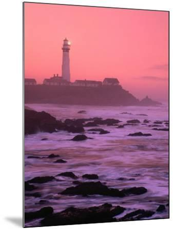 Sunrise Over Pigeon Point Lighthouse of San Mateo County, San Francisco, California, USA-Stephen Saks-Mounted Photographic Print