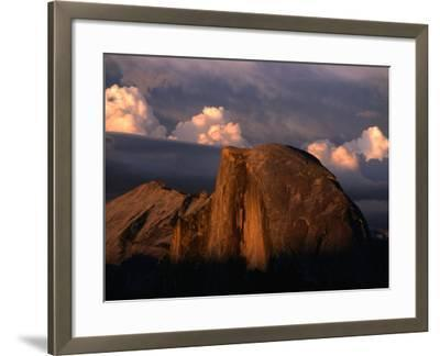 Half Dome in Yosemite National Park, Yosemite National Park, USA-Kraig Lieb-Framed Photographic Print