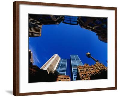 Historic and Modern Buildings, Sydney, Australia-Krzysztof Dydynski-Framed Photographic Print