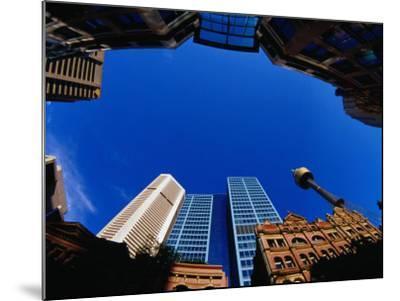 Historic and Modern Buildings, Sydney, Australia-Krzysztof Dydynski-Mounted Photographic Print