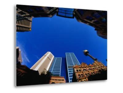Historic and Modern Buildings, Sydney, Australia-Krzysztof Dydynski-Metal Print