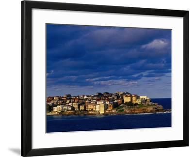 North Bondi Headland at Sunset, Sydney, Australia-Paul Beinssen-Framed Photographic Print