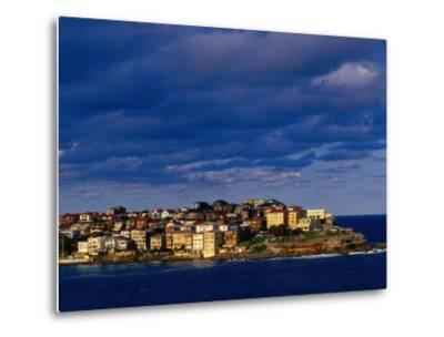 North Bondi Headland at Sunset, Sydney, Australia-Paul Beinssen-Metal Print