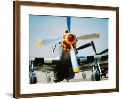 "WWII Aeroplane, ""War Birds"" Air Show, Oshkosh, U.S.A.-Lou Jones-Framed Photographic Print"