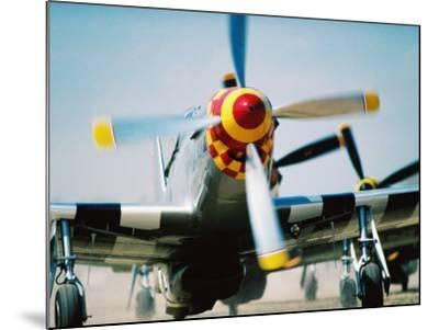 "WWII Aeroplane, ""War Birds"" Air Show, Oshkosh, U.S.A.-Lou Jones-Mounted Photographic Print"