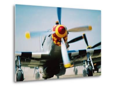 "WWII Aeroplane, ""War Birds"" Air Show, Oshkosh, U.S.A.-Lou Jones-Metal Print"