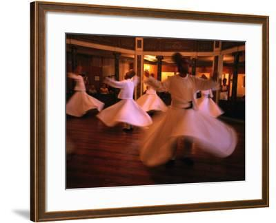 Whirling Dervishes, Istanbul, Turkey-Phil Weymouth-Framed Photographic Print