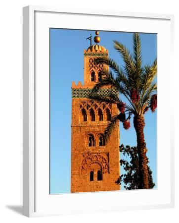 Koutoubia Mosque, Marrakesh, Morocco-Doug McKinlay-Framed Photographic Print
