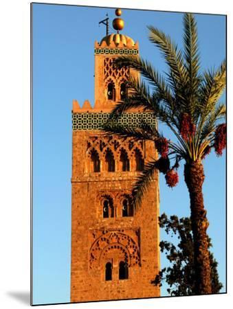 Koutoubia Mosque, Marrakesh, Morocco-Doug McKinlay-Mounted Photographic Print