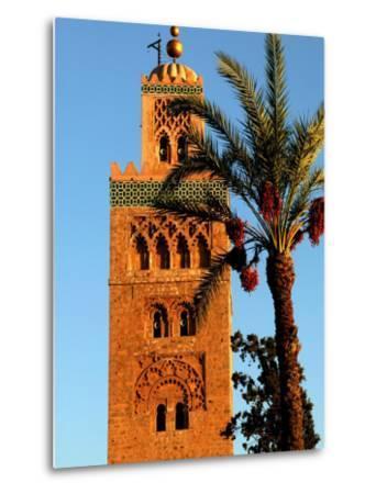 Koutoubia Mosque, Marrakesh, Morocco-Doug McKinlay-Metal Print