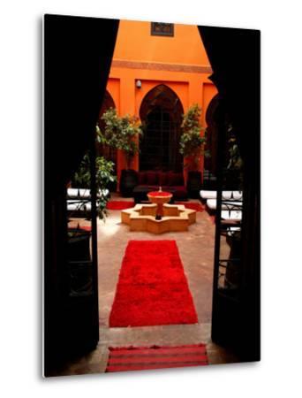 Les Bains De Marrakesh, Marrakesh, Morocco-Doug McKinlay-Metal Print