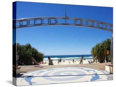 Surfers Paradise, Gold Coast, Queensland, Australia-David Wall-Stretched Canvas Print