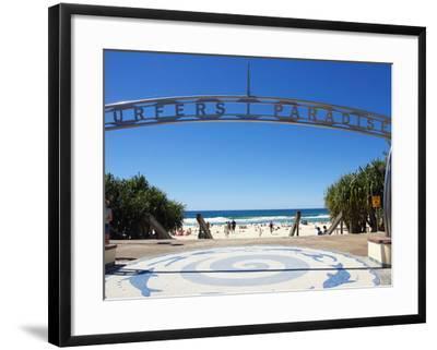 Surfers Paradise, Gold Coast, Queensland, Australia-David Wall-Framed Photographic Print
