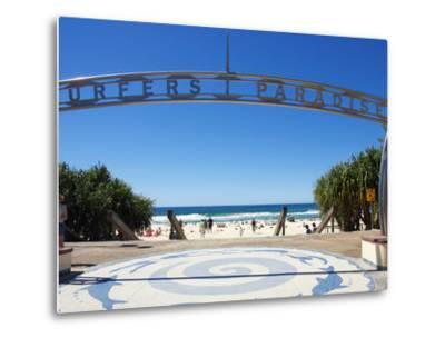Surfers Paradise, Gold Coast, Queensland, Australia-David Wall-Metal Print