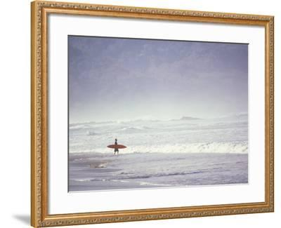 Cocoa Beach Surfer, Florida, USA-Stuart Westmoreland-Framed Premium Photographic Print