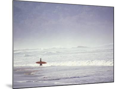 Cocoa Beach Surfer, Florida, USA-Stuart Westmoreland-Mounted Premium Photographic Print