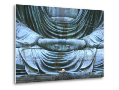 Great Buddha Detail, Kotokuji Temple, Kamakura, Japan-Rob Tilley-Metal Print