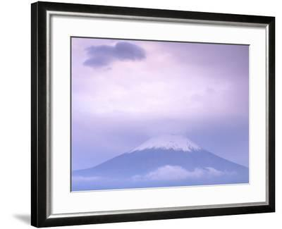 Mt. Fuji, Yamanaka Lake, Japan-Rob Tilley-Framed Photographic Print