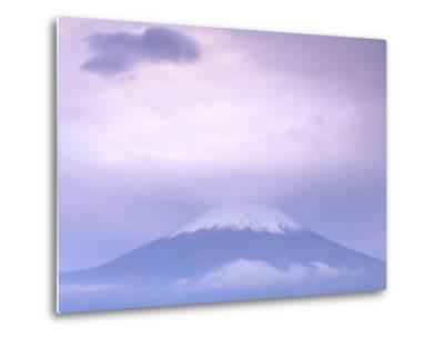 Mt. Fuji, Yamanaka Lake, Japan-Rob Tilley-Metal Print