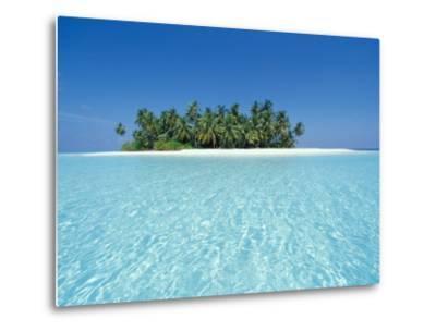 Uninhabited Tropical Island, Ari Atoll, Maldives-Stuart Westmoreland-Metal Print