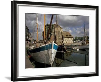 Old Port, Honfleur, Normandy, France-David Barnes-Framed Photographic Print