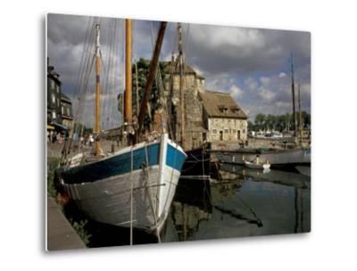 Old Port, Honfleur, Normandy, France-David Barnes-Metal Print