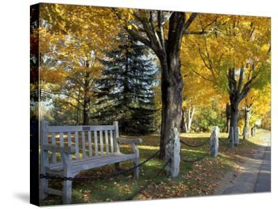 Fall in New England, New Hampshire, USA-Jerry & Marcy Monkman-Stretched Canvas Print