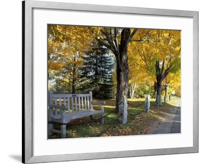 Fall in New England, New Hampshire, USA-Jerry & Marcy Monkman-Framed Photographic Print
