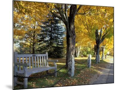 Fall in New England, New Hampshire, USA-Jerry & Marcy Monkman-Mounted Photographic Print