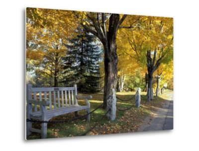 Fall in New England, New Hampshire, USA-Jerry & Marcy Monkman-Metal Print