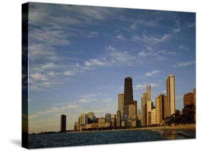 Chicago Illinois USA--Stretched Canvas Print