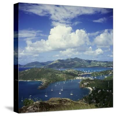 English Harbour, Antigua--Stretched Canvas Print