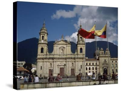 Cathedral, Bogota, Colombia--Stretched Canvas Print