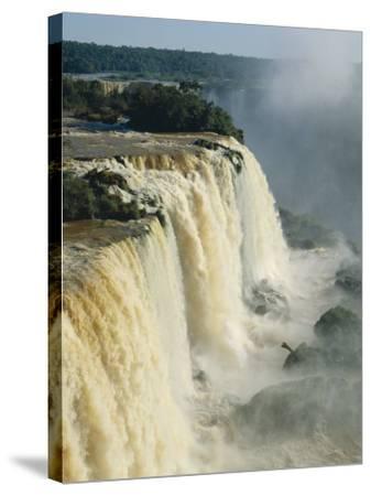 Iguassu Falls, Brazil--Stretched Canvas Print