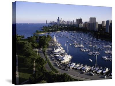 Chicago Illinois, USA--Stretched Canvas Print