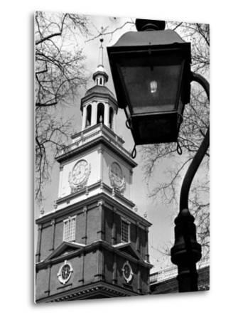 This View Shows Independence Hall--Metal Print