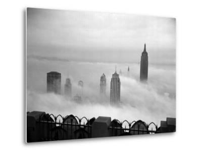 The Manhattan Skyline from the 69th Floor of the RCA Building--Metal Print