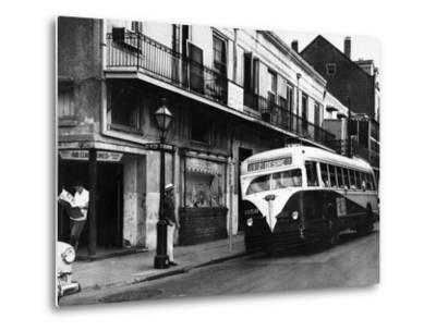 The Streetcar Named Desire is Now a Bus--Metal Print