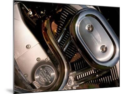 Harley Davidson Motorbike, June 1998--Mounted Photographic Print