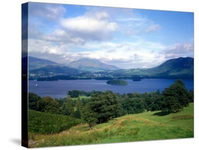 Thirlmere in the Lake District Cumbria, July 1980--Stretched Canvas Print