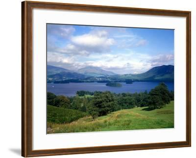 Thirlmere in the Lake District Cumbria, July 1980--Framed Photographic Print