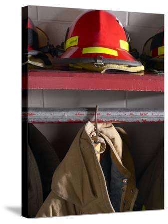 Firefighting Gear--Stretched Canvas Print