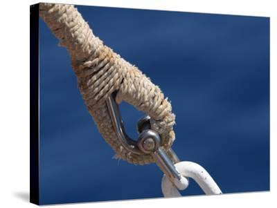 Nautical Ropes--Stretched Canvas Print